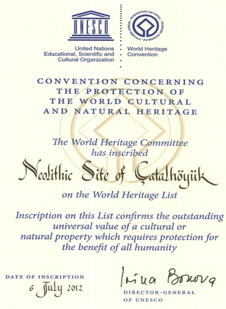 Unesco Miras Listesinde Konya